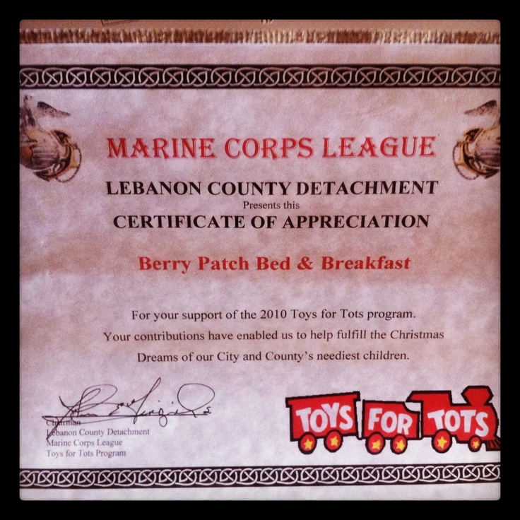 Toys For Tots Certificate : Best images about we support the troops on pinterest