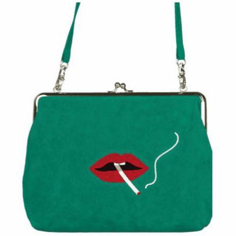 Embroidered Mini Handbag