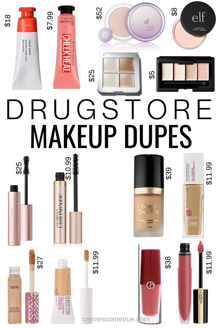 Drugstore Makeup Dupes Cremes Come True In 2020 Makeup Dupes Drugstore Makeup Dupes Drugstore Makeup