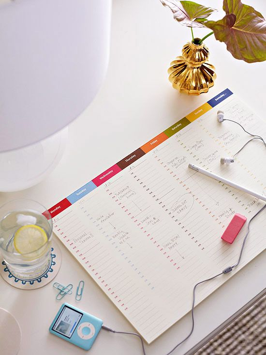 Organized Cleaning Routine from @Better Homes and Gardens. Great advice here from @Aby Garvey!