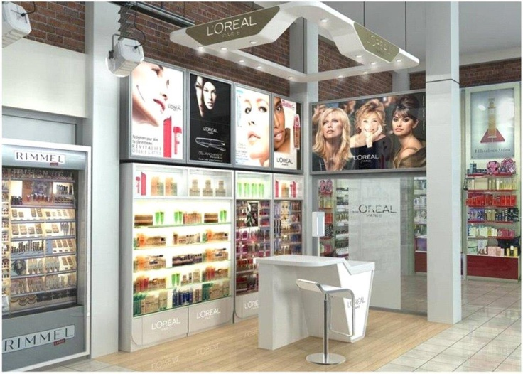 L'OREAL - store environment