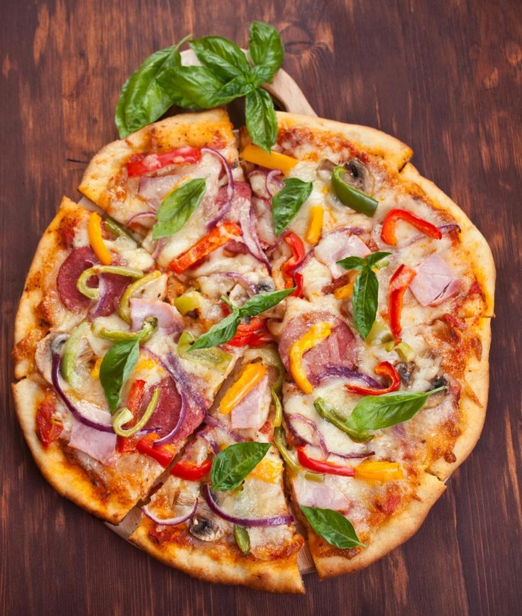 Tasty pizza recipe for the whole family to enjoy. Lose weight with your favourite foods. Unislim friendly meal.