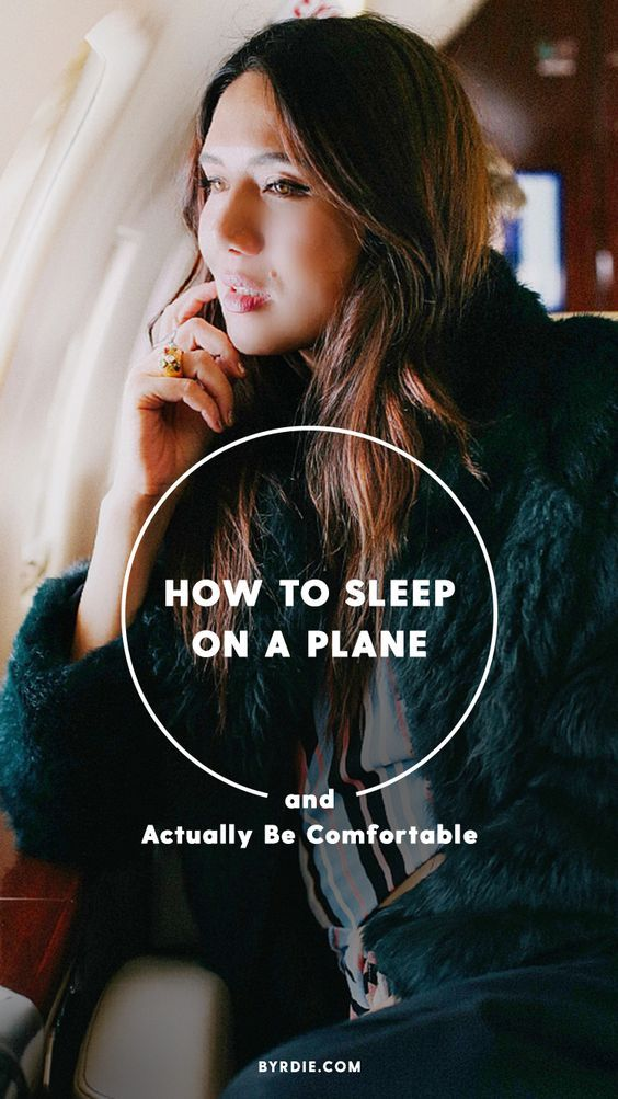 How to sleep on a plane and be comfortable