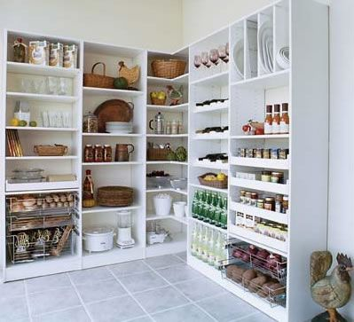 WIth our custom pantry solutions you will have a place to store your food supplies, keeping them readily accessible and neatly organized. Description from designerclosets.com. I searched for this on bing.com/images