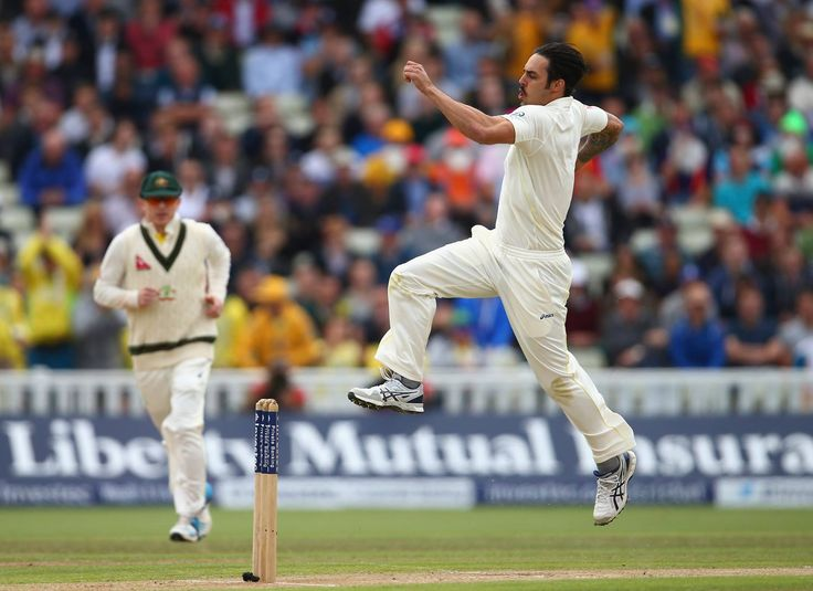 The Ashes 3rd Test 2015 Mitch finally gets his 300th wicket....