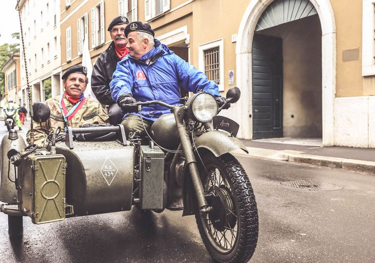 Old cars Italy Mille Miglia