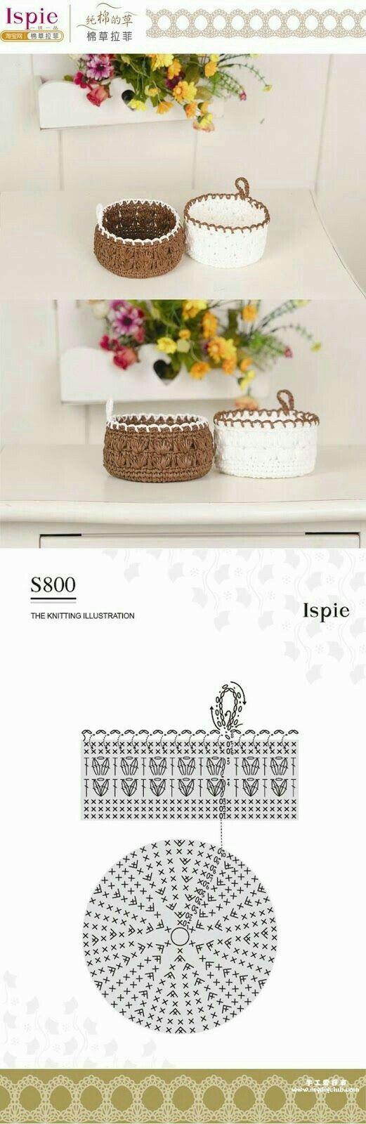 Crochet: Small Baskets