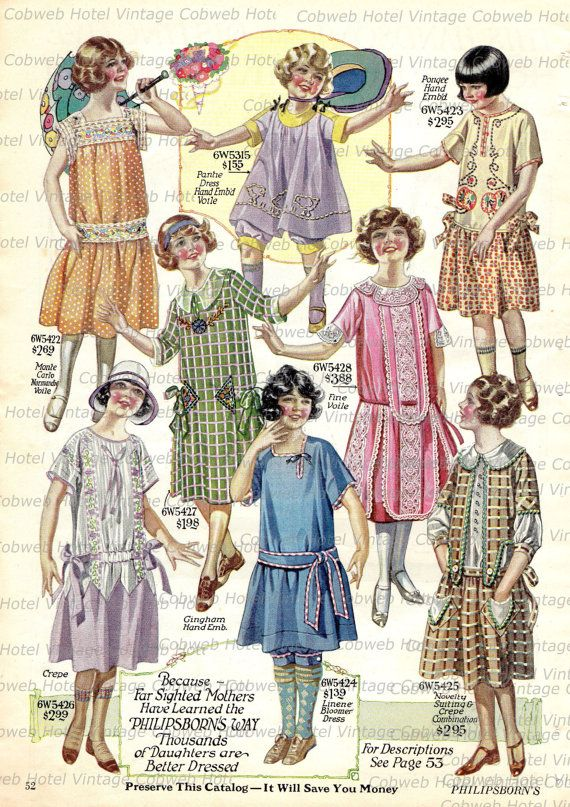 1920s Children s Fashion Part of Our Twenties Fashions Section 21