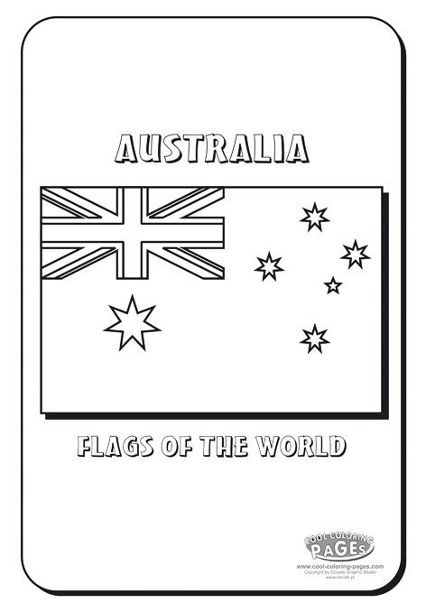 australia day craft coloring pages - photo#28
