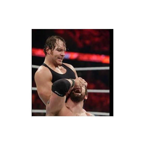Dean Ambrose vs. Bad News Barrett photos ❤ liked on Polyvore featuring dean ambrose and wwe