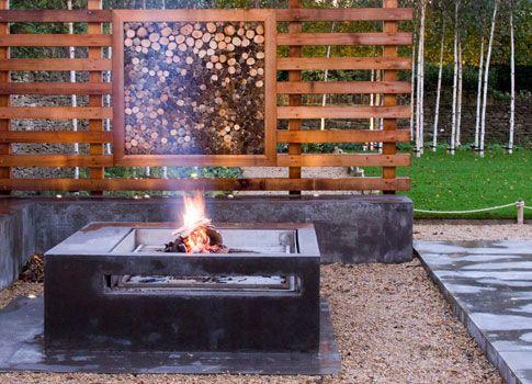 Berkeley House - Fire Pit Johnstone Landscapes