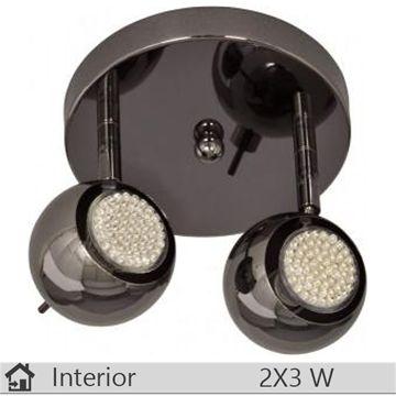 Plafoniera iluminat decorativ interior Klausen, gama LIN, model PL2