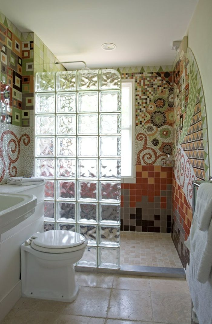 13 best images about Paroi douche on Pinterest 34, Ace hotel and - carrelage salle de bain mosaique