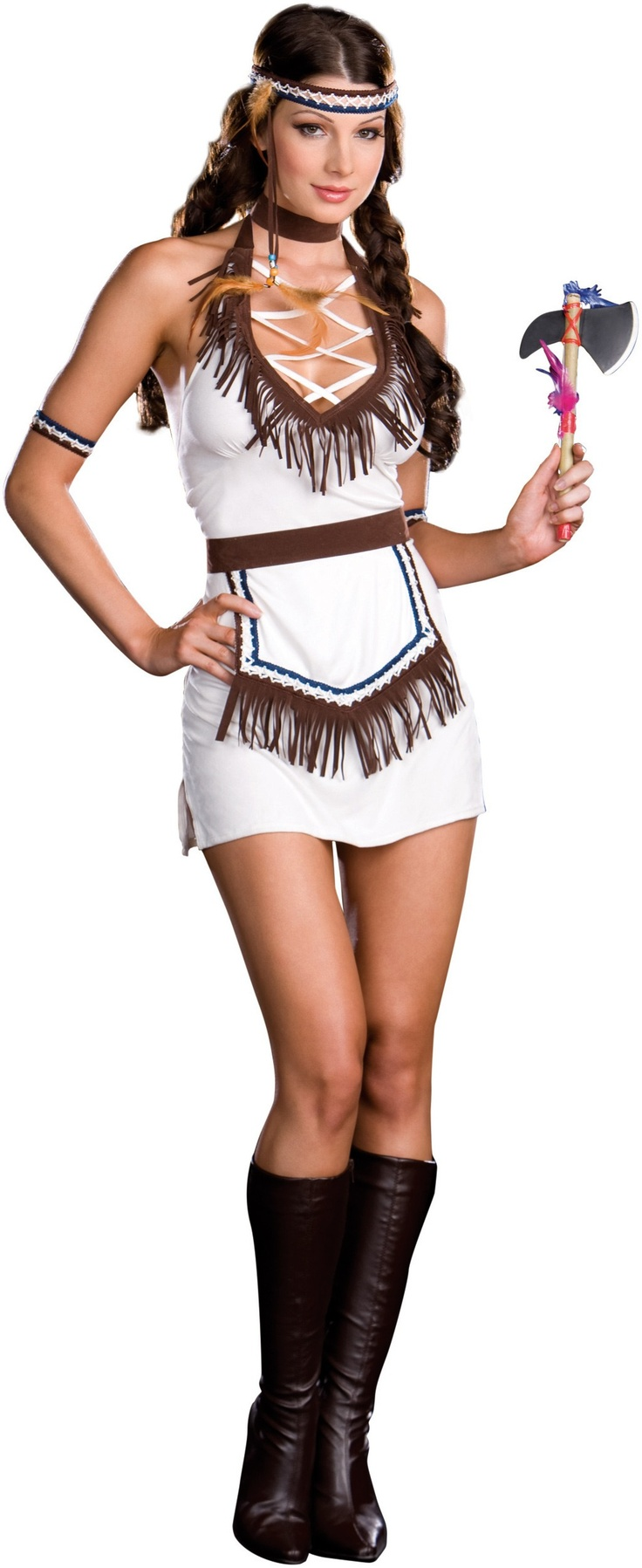Native Knockout Adult Costume - Large