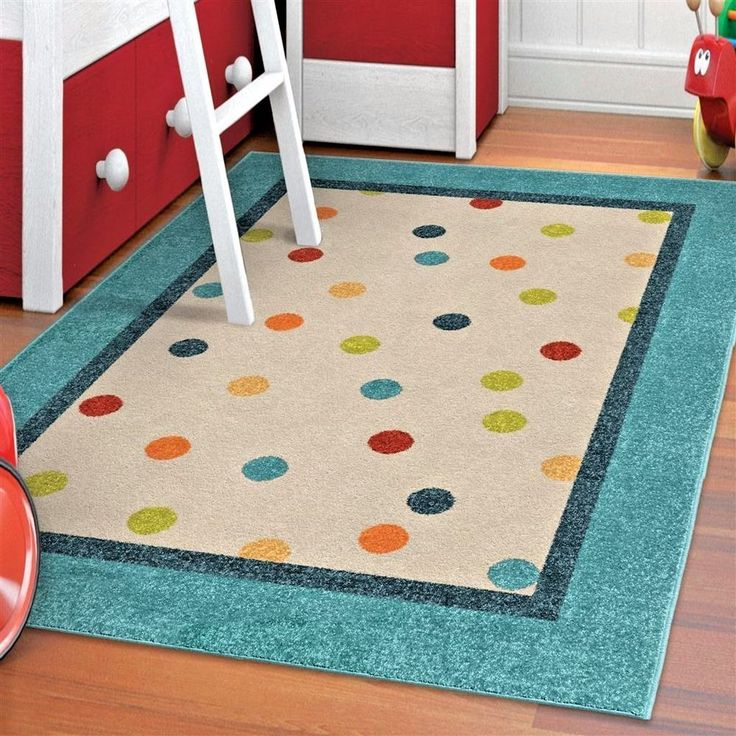 Kids Rugs Area Rug Childrens Playroom For Room Colorful