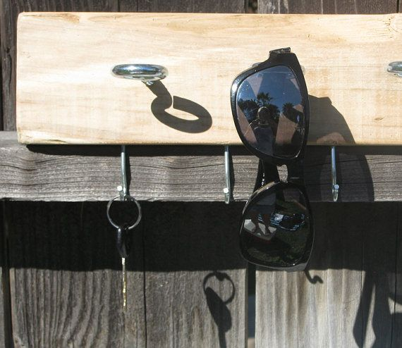 how to make key and sunglass holder for home