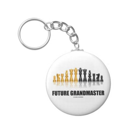 Future Grandmaster (Chess Set) Key Chains #futuregrandmaster #grandmaster #chess #chessset #reflectivechessset #wordsandunwords #geek #chessplayer #chessteacher #chessattitude Here's a keychain for any future grandmaster!