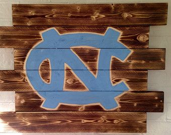 University of North Carolina Tarheels College by WallyWallhangers