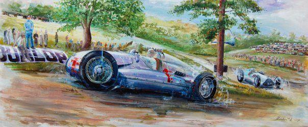 Daniel Šenkeřík Motorsport art