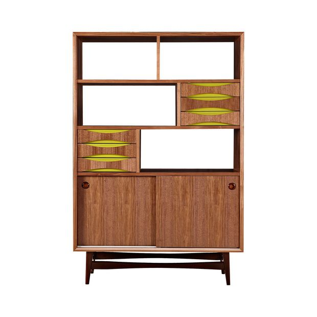 nyekoncept hanna standard bookcase add midcentury to your home with the nyekoncept hanna standard bookcase touches of color accent this
