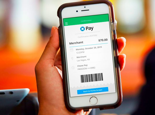 Does the world need another online wallet? Chase thinks so.