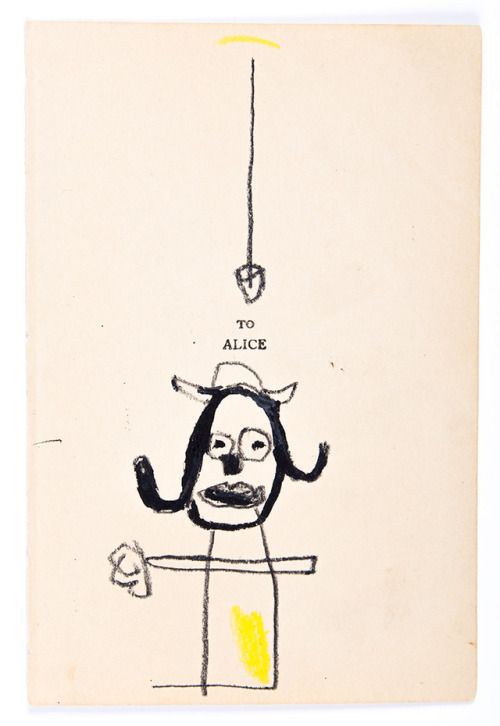 to Alice7 5/16″ x 4 5/8″ink, charcoal, resin stick on...