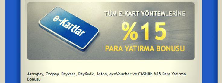 Tempobet %15 Para Yatırma Bonusu Veriyor!