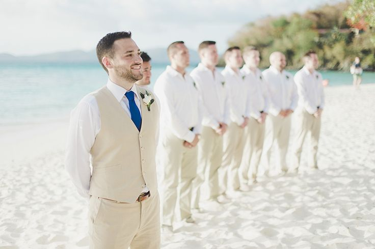 beach-wedding-groom-suit                                                                                                                                                                                 More