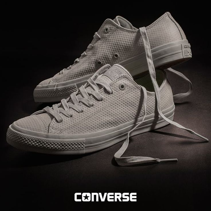 New pieces for #MEN have landed! Discover Chuck Taylor All Star II, made from a raised dot texture leather!