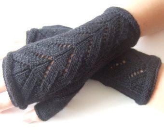 Beaded wrist warmersfingerless glovesfingerless by Ligitashop