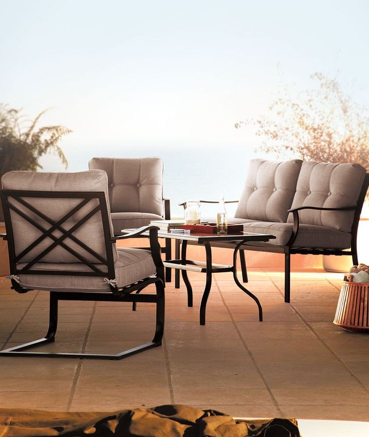 Sonoma Outdoors 4 Pc Bayview Loveseat Chair Amp Coffee