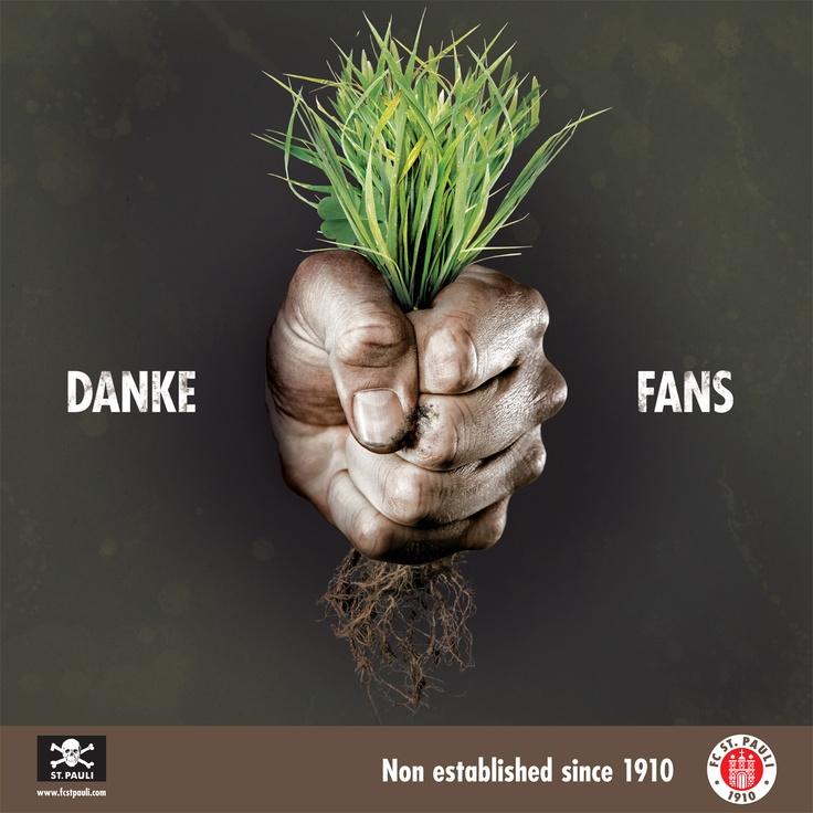 FC ST. PAULI - DANKE FANS