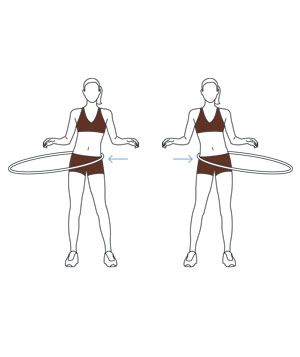 Fun Hula-Hoop Exercise Routine|Channel your inner child with this quick and effective workout.