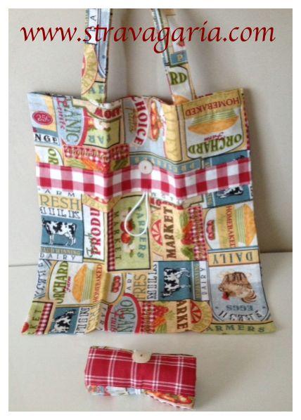 sewing tutorial for shopper bag ♥