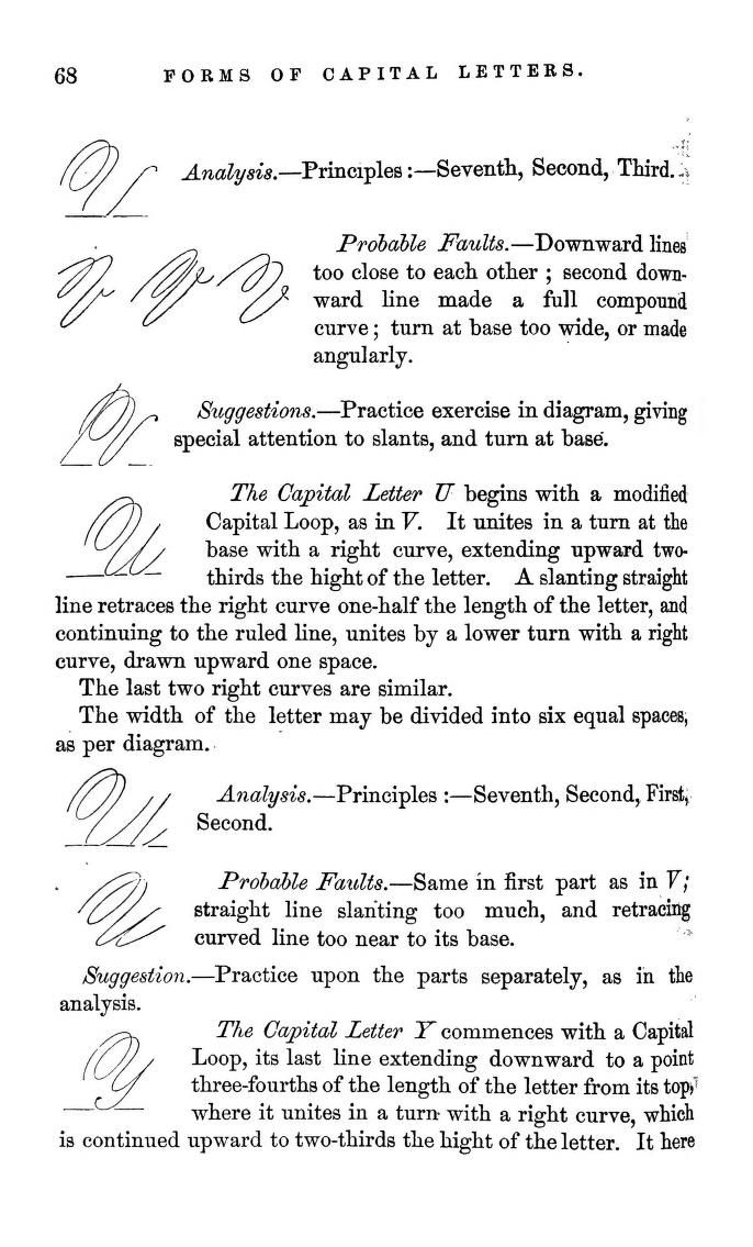 Style Spencerian Penmanship Lessons: 17 Best Images About Spencerian Script On Pinterest