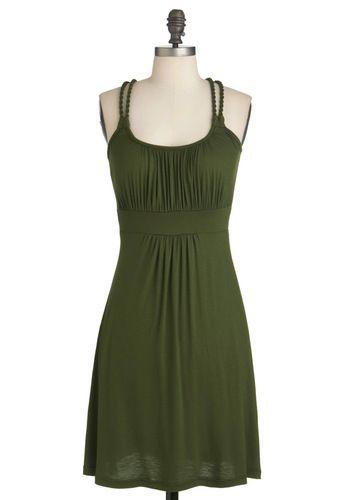 Richly Royal Dress in Olive - Hmm....: Pretty Dresses, Richly Royal, Fashion, Royals, Color, Modcloth, Royal Dresses, Olive Green Dresses, Olives