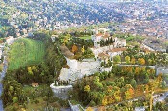 Brescia , il Castello . ITALY