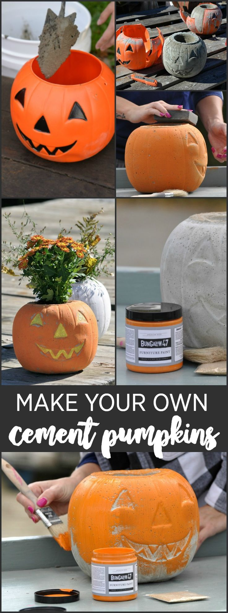 how to make cement paint