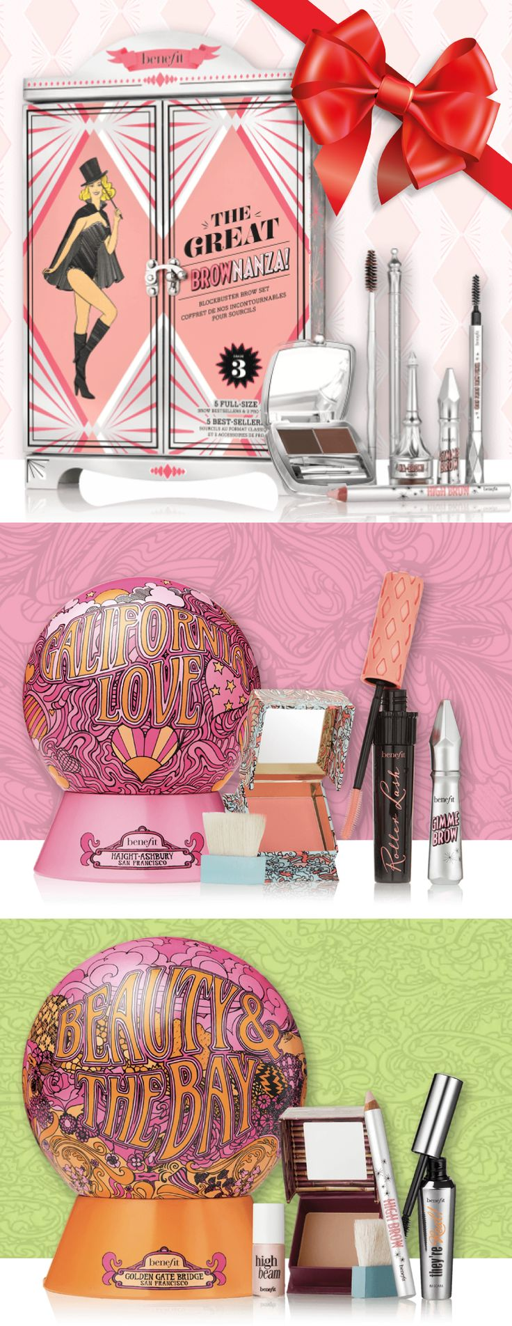 The Benefit Sets are out for Christmas 2017 and we want them all!