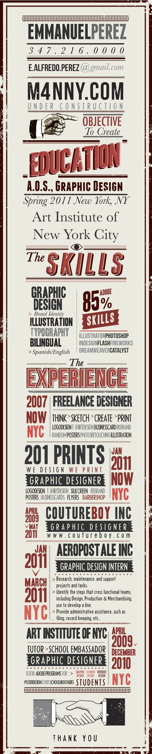 33 best Infographic Resumes images on Pinterest | Creative ...