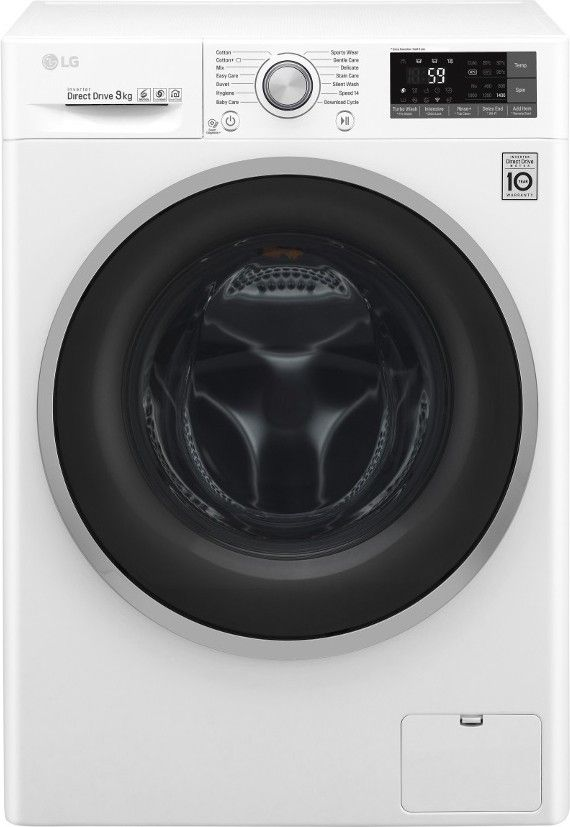 Buy Lg F4j7vn1w Washing Machine White 9 Kg 1400 Rpm A 30 At