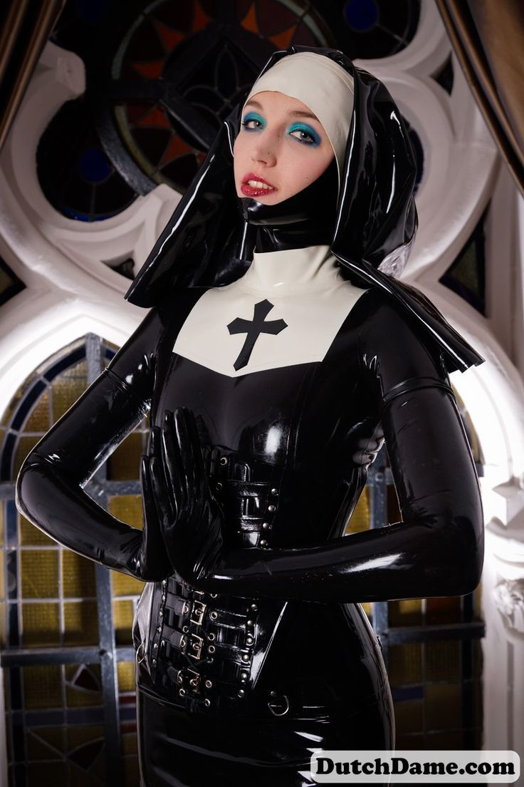 Pin by RubberD on Latex nuns | Latex, Latex hood, Latex ...
