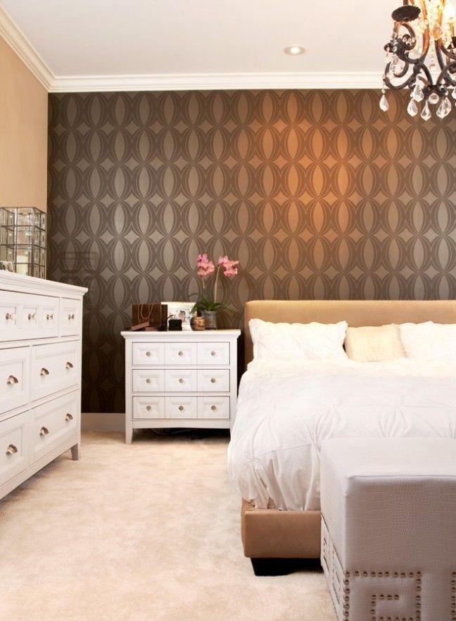 Tapeten Im Schlafzimmer 26 Gestaltungsideen Fur Eine Akzentwand