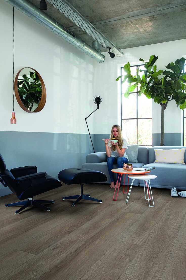 Quick-Step 'Livyn' luxury vinyl flooring - Pulse (PUCL40078) 'Vineyard oak brown' - www.quick-step.com