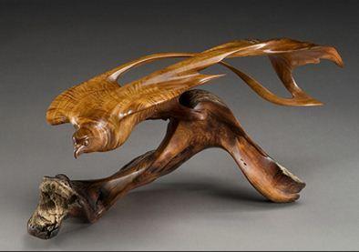 J. Christopher White.  Изящные деревянные скульптуры. Одинадцатая
