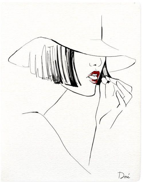 .: Garance Dore Fashion Illustrations