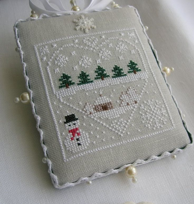 cross-stitch ornament