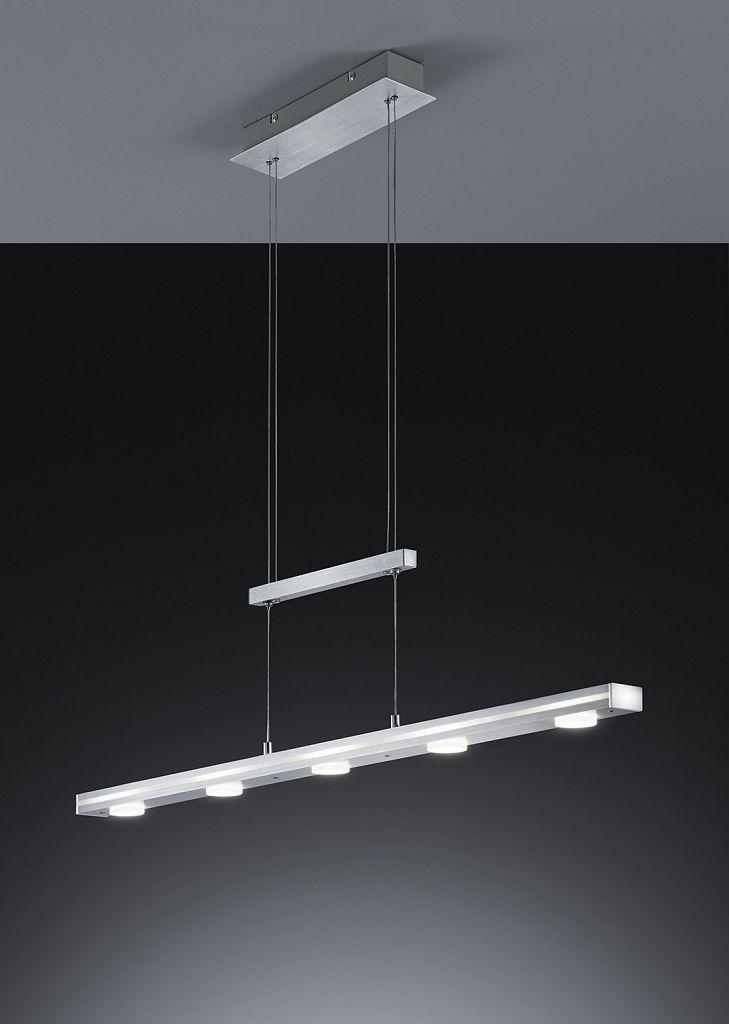 Szczegóły O Bauhaus Pendelleuchte Aluminium Touchschalter