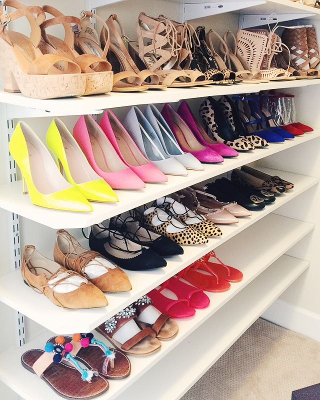 In love with this colorful shoe collection!