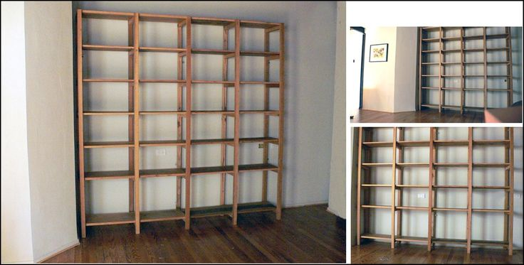 19 best images about estantes on pinterest cats shelves - Bibliotecas de madera ...